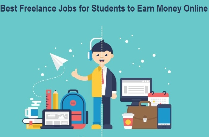 Best Freelance Jobs for Students to Earn Money Online