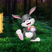 BigEscapeGames-BEG Easter Bunny Forest Escape