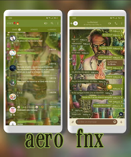Dr Frankie Theme For YOWhatsApp & Aero WhatsApp By Ave fénix
