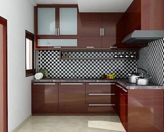 Desain Kitchen Set Mungil Gambar Rumah Minimalis