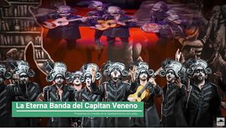 """Presentación con Letra Comparsa """"La Eterna Banda del Capitán Veneno"""" de Jc Aragón Becerra (2020)"""