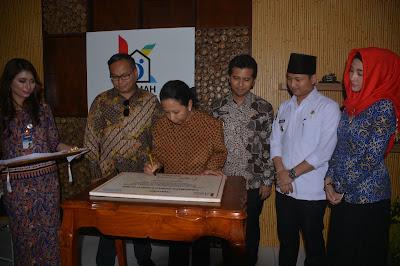Menteri BUMN Resmikan Rumah Kreatif BUMN Trenggalek