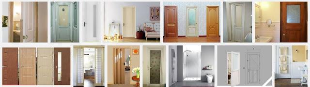 1 vài mẫu cửa phòng tắm đẹp