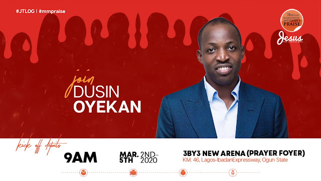 Dunsin Oyekan Ministration At 78 Hours Marathon Praise 2020