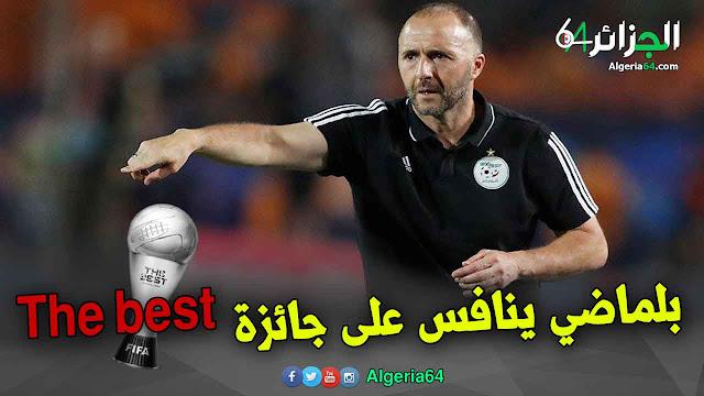المدرب الجزائري جمال بلماضي ينافس على جائزة أفضل مدرب في العالم للفيفا