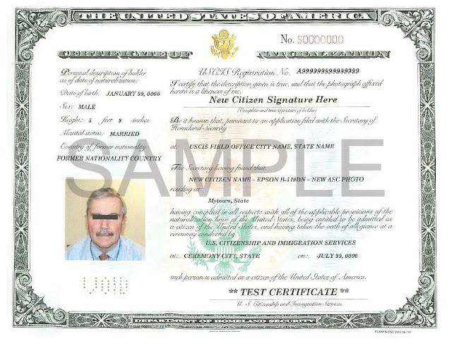 تعرف علي كيفية التقديم علي شهادة الجنسية لابناء حاملي الجنسية الأمريكية Certificate Of Citizenship