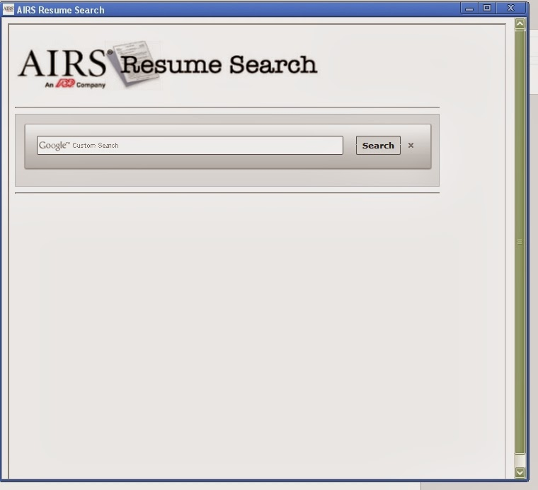 AIRS Free Resume Search  Search Resumes Free