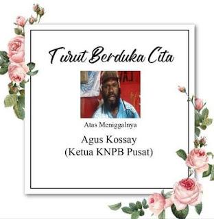 KNPB : Isu Hoax Kematian Agus Kossay, Ada Kelompok Pejuang Papua yang ingin Menjatuhkan nama baik kami