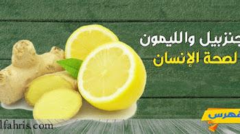 فوائد مشروب الزنجبيل والليمون لصحة الإنسان