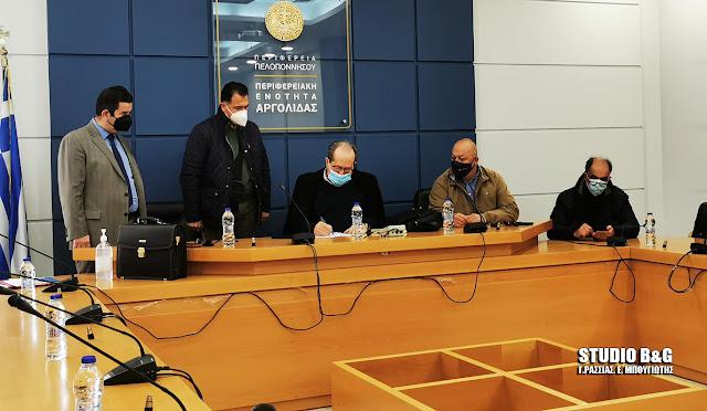 Σε εξελιξη σύσκεψη του Περιφερειάρχη Πελοποννήσου  με τους χυμοποιούς της Αργολίδας