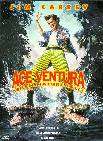 Poster of Ace Ventura When Nature Calls 1995 720p BRRip Full Movie Download