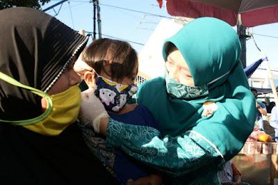 Pemerintah Gencarkan Gerakan Masker untuk Anak NTB