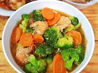 Masak Sehat, Lezat dan Hemat Tumis Brokoli Saus Tiram