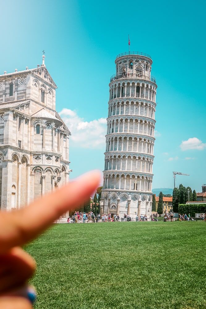 Leaning Tower of Pisa, Pisa Italy, Places to Visit in Italy