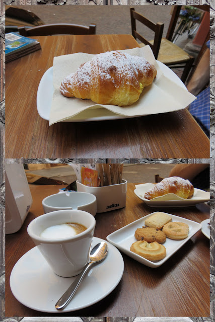 Day trip to Modena - brioche and coffee