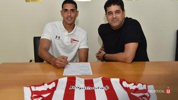 Oficial: Estudiantes de la Plata, firma cedido Sabbag