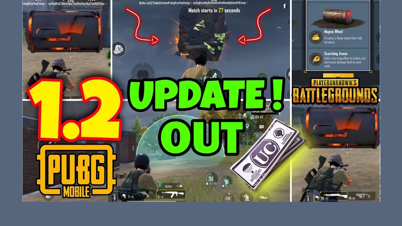 PUBG Mobile 1.2 is out - Download now