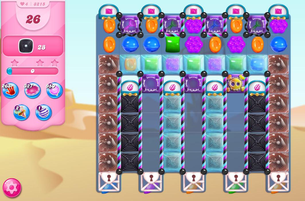 Candy Crush Saga level 8215