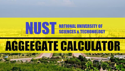 National University Of Sciences and Technology (NUST) aggregate calculator - taleem360