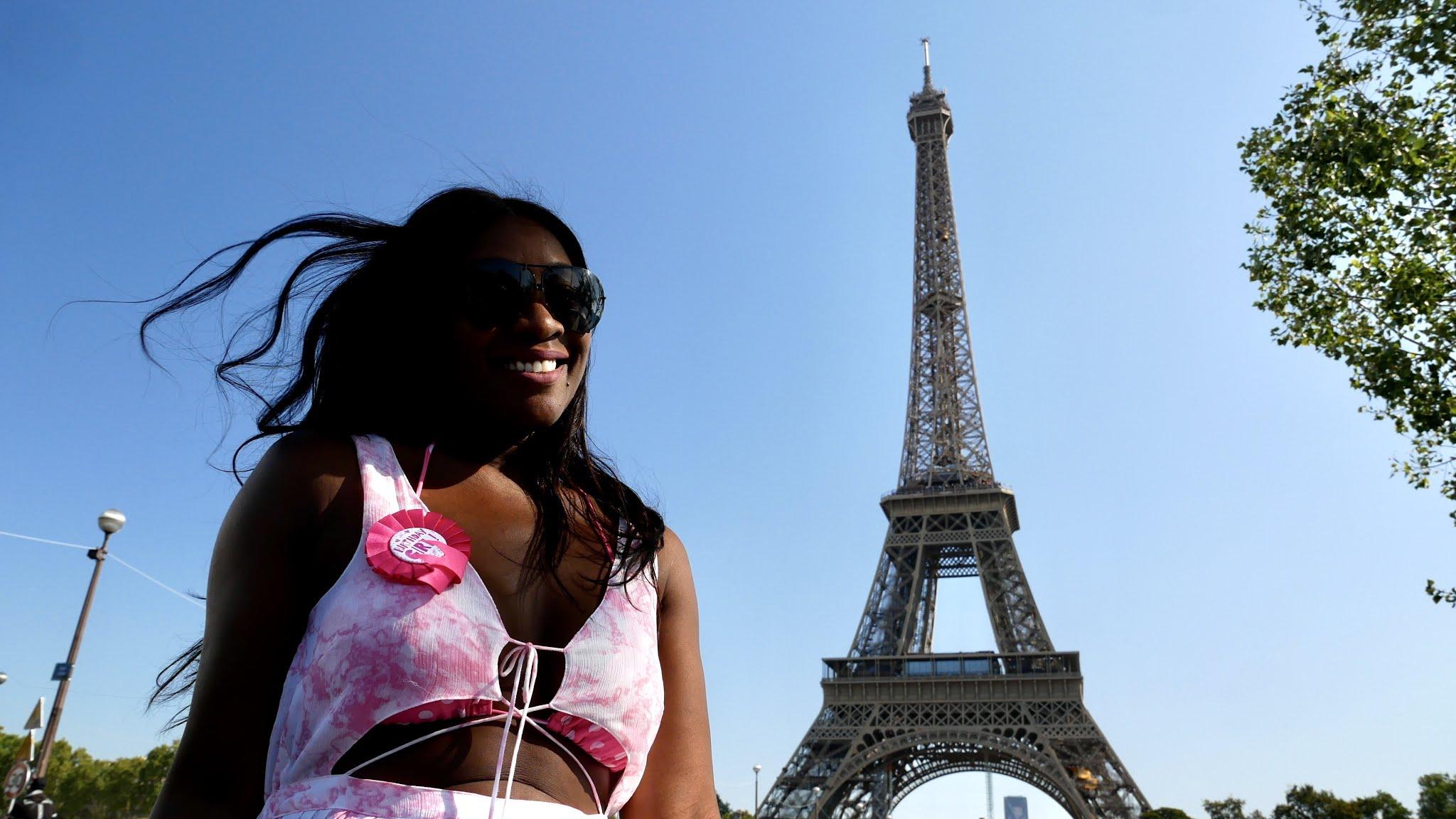 Paris Eiffel Tower in September
