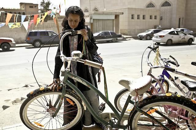 """La bicicleta verde"" (Haifaa Al-Mansour, 2012)"