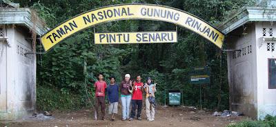 Senaru Gate Mount Rinjani