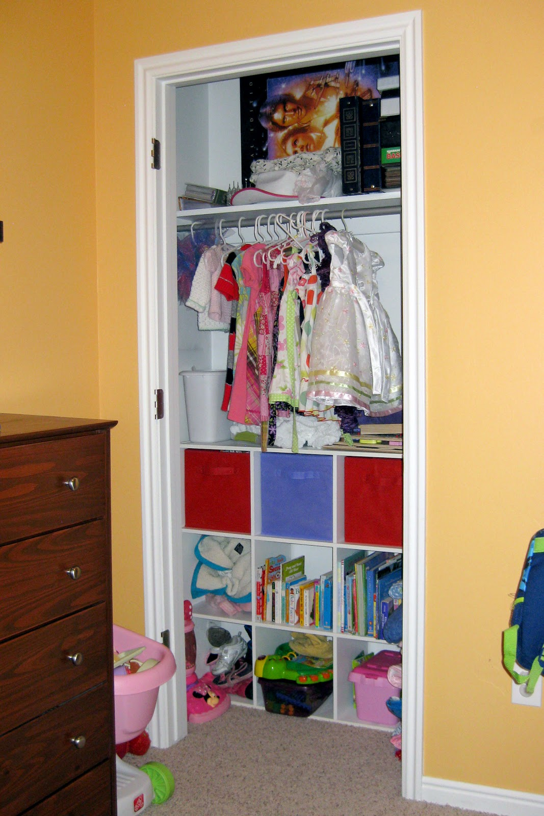 Pretty distressed guest post five space saving ideas for - Space saving closet ideas ...