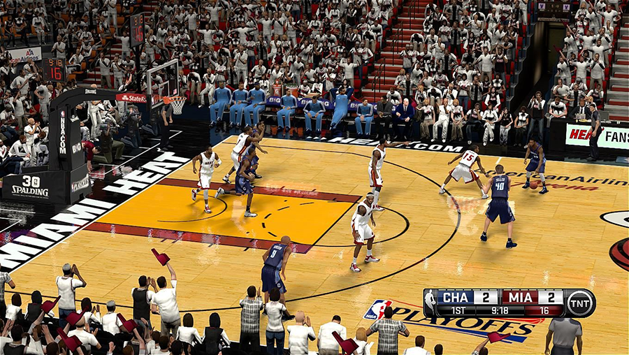 Heat HD Court Mod NBA2K14