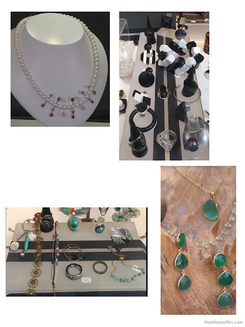 jewelry in Paris shop windows October 2017
