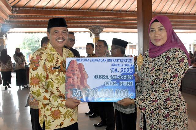 Pemkab Mojokerto Ploting Rp 38 Miliar Lebih untuk 99 Desa