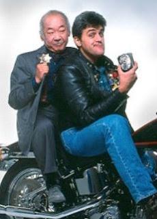 Jay Leno Pat Morita Collision Course cop comedy 1989