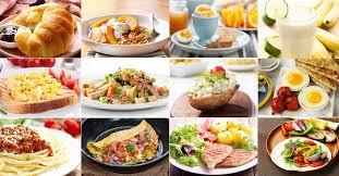 calories in various foods