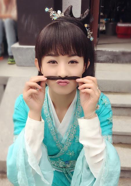 Zhao Li Ying in Chinese fantasy wuxia Legend of Chusen