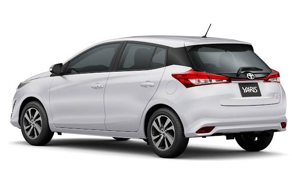 Toyota Yaris 2021 S chega com preço de R$ 89.990 - fotos