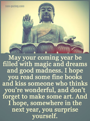 Happy New Year Buddha Quotes
