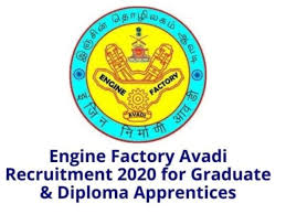 BE & Diploma Apprentices Requirement Walk In Interview For Engine Factory, Avadi,Chennai