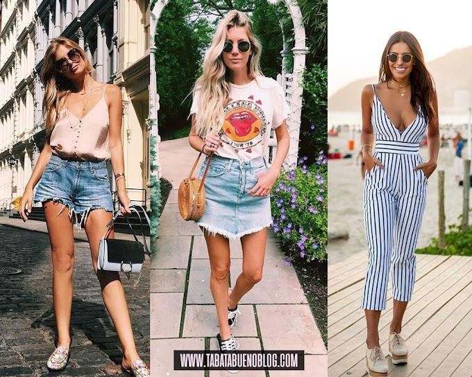 Looks despojados femininos para o verão