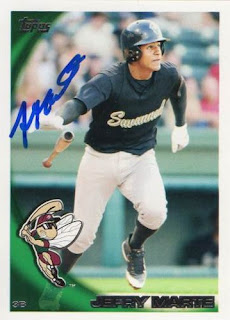 Featured autograph – Jefry Marte