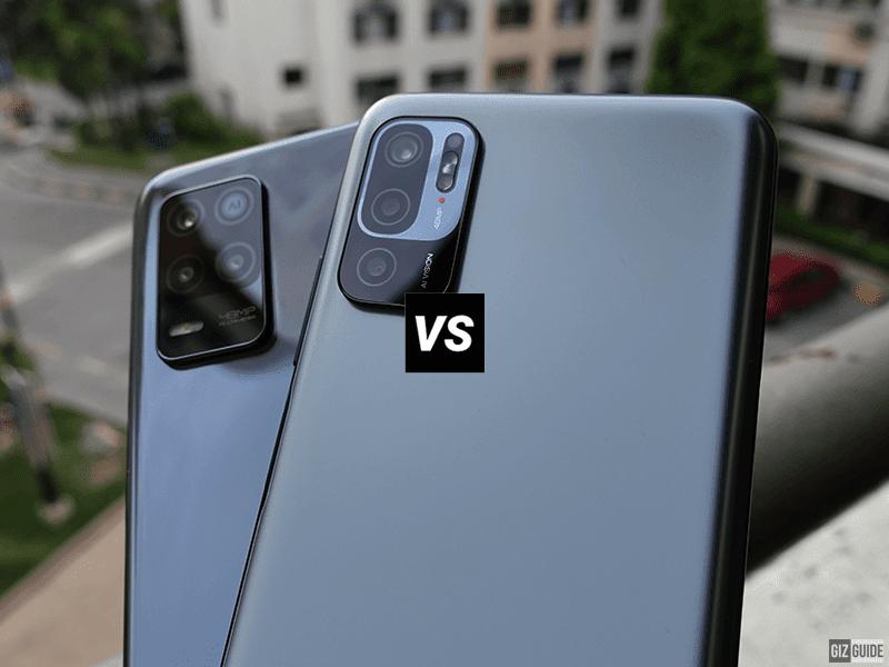 Redmi Note 10 5G vs realme 8 5G Specs Comparison