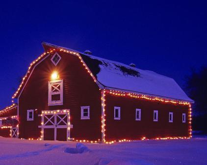 Barn Christmas Decorations