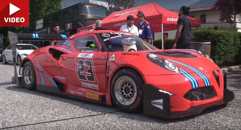 This 600hp Alfa Romeo 4C Hillclimber Will Blow Your Mind