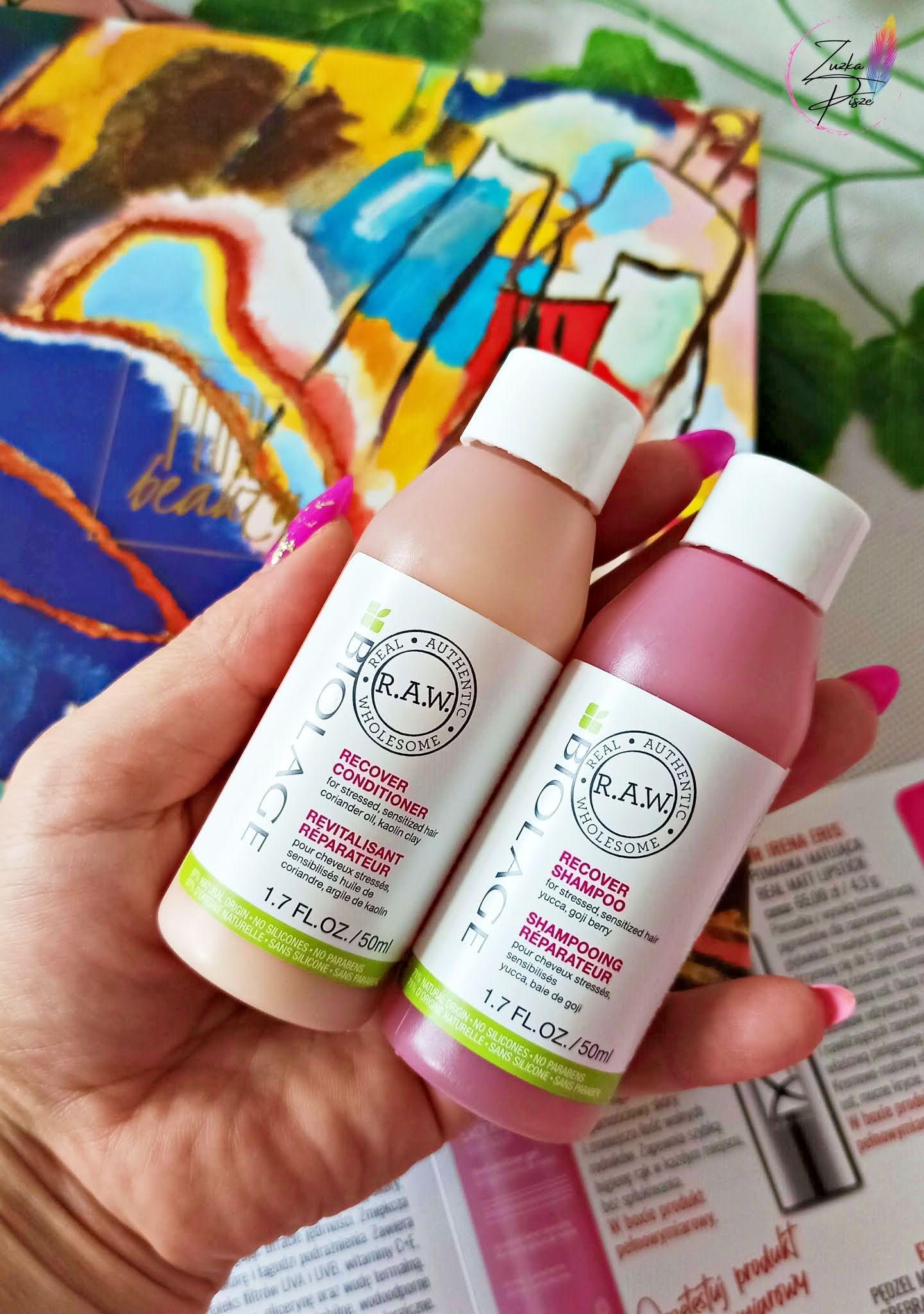 BIOLAGE R.A.W. szampon i odżywka RECOVER