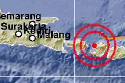 Gempa Hari Ini: Lombok Utara Diguncang Gempa 5,7 SR Namun Tidak Mengakibatkan Tsunami