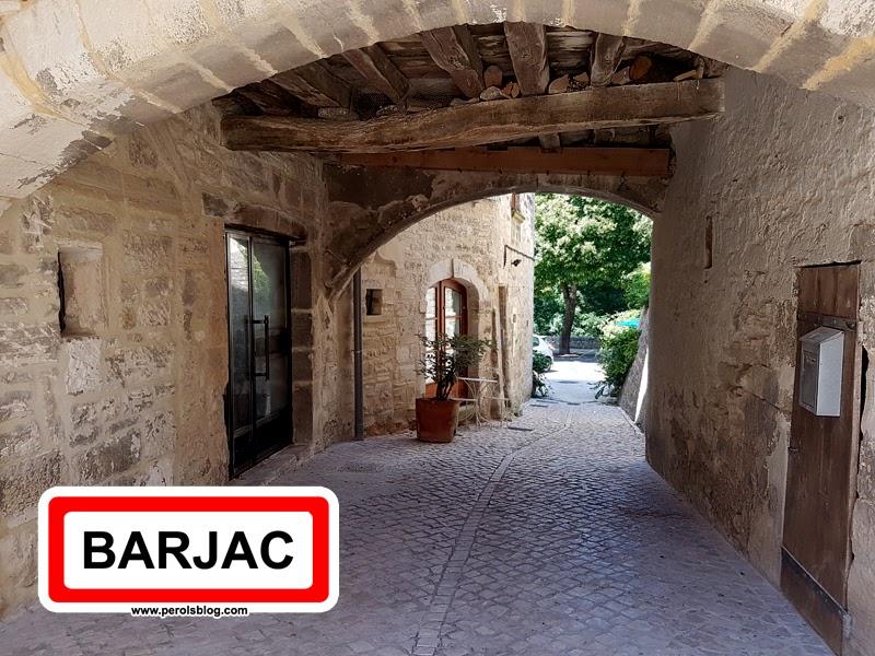 """Barjac """" Plus Beaux Villages de France """""""