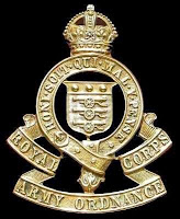 Royal Army Ordnance Corps badge
