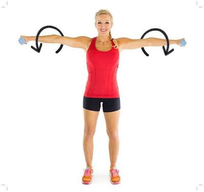 cara membentuk otot bahu tanpa alat gym