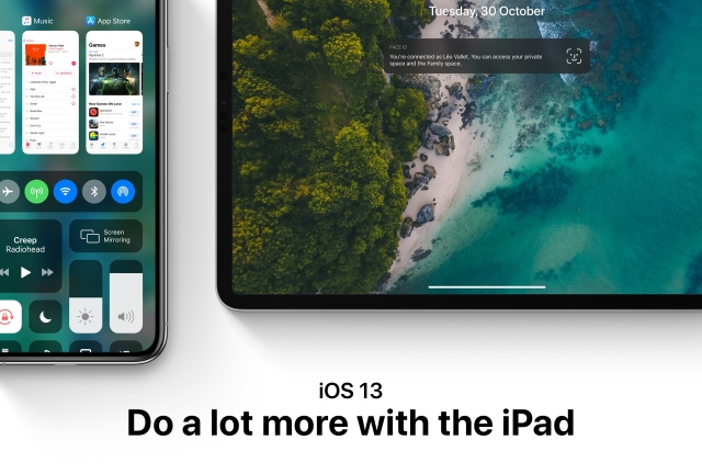 iOS 13 Concept Highlights Magic Mouse, New Control Center & more