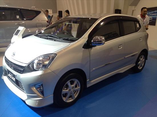 Eksterior Astra Toyota Agya 2016