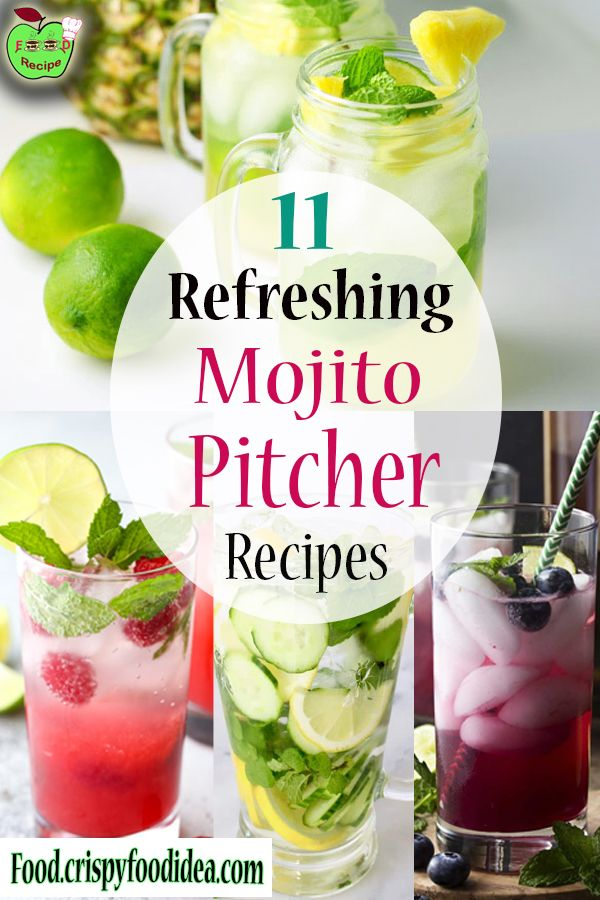 Mojito Pitcher Recipes | Mojito Recipes