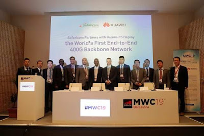Safaricom with Huawei to roll out 5G network. PHOTO | BMS
